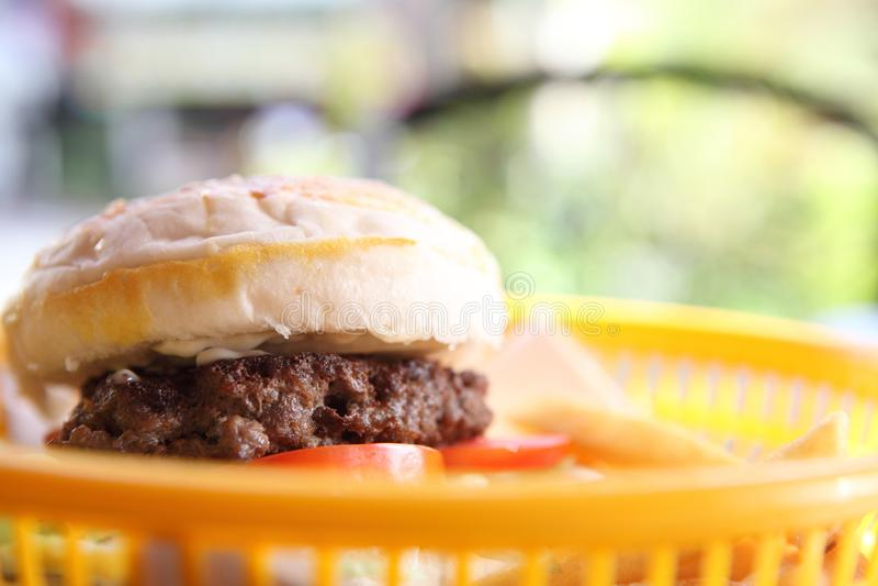 Гамбургер говядины стоковые изображения