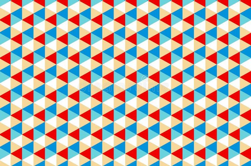 Геометрическая концепция картины иллюстрация вектора