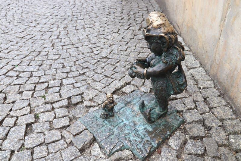 Гном Wroclaw стоковое фото
