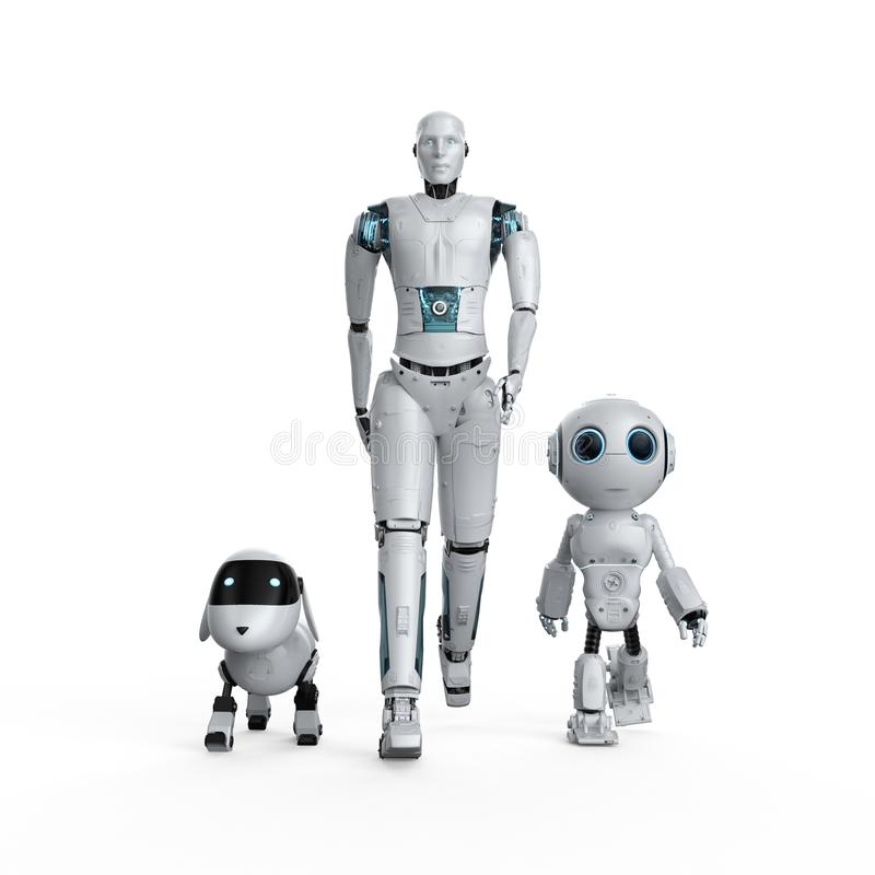 Группа в составе роботы автоматизации