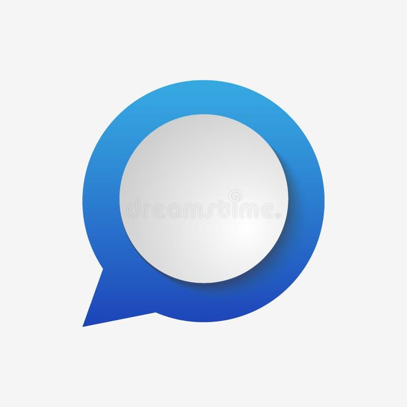 Голубое примечание сети изолированное на прозрачной предпосылке Шаблон для ваших проектов также вектор иллюстрации притяжки corel иллюстрация штока
