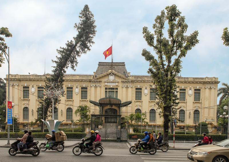 Гостевой дом государства Вьетнама в Ханое стоковые изображения