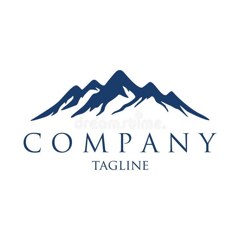 Гора для логотипа компании иллюстрация штока