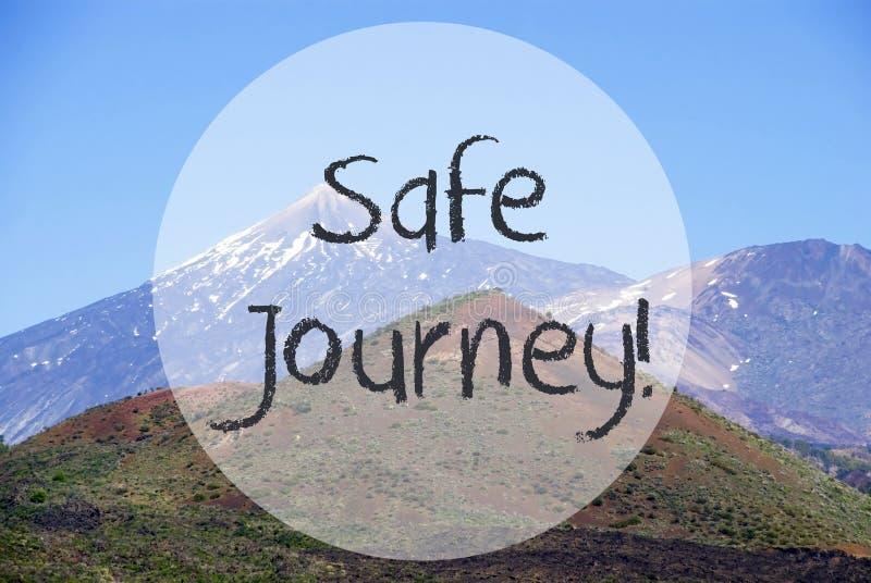 Гора Vulcano, путешествие текста безопасное, красивая природа стоковая фотография