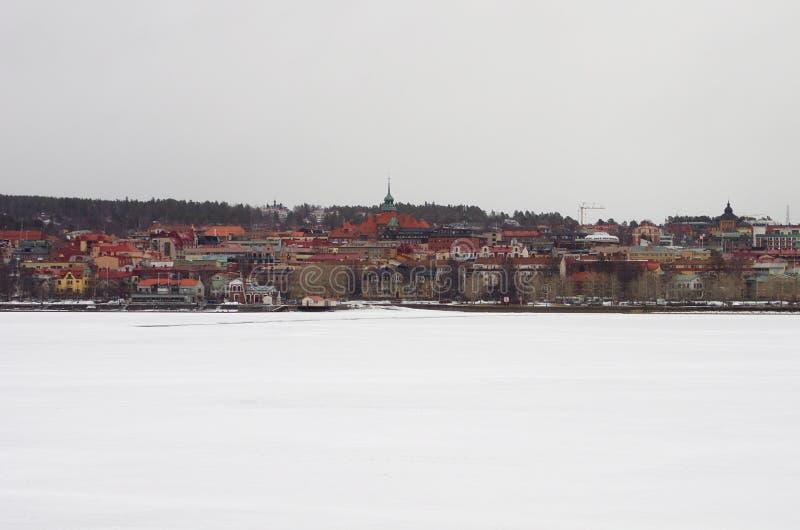 Город Ã-stersund в Sweden-02 03 2019 стоковое фото