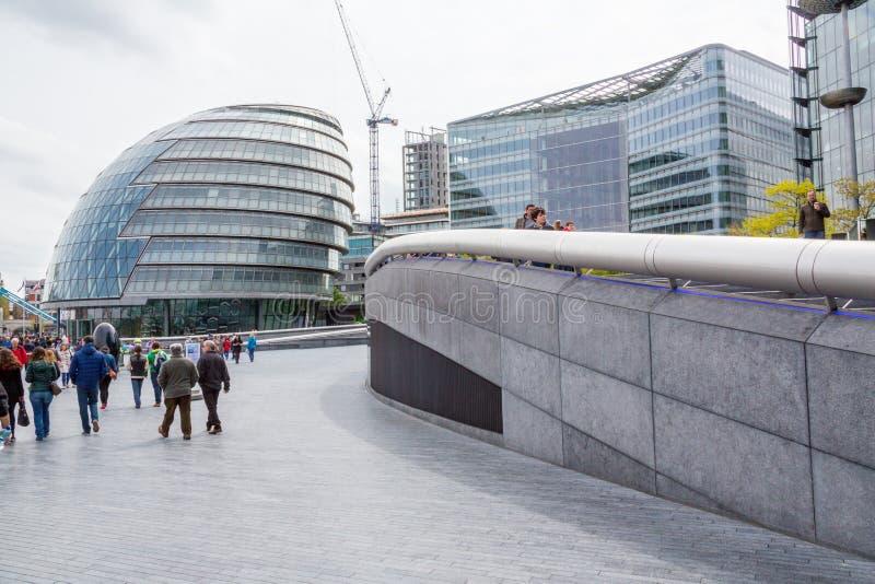 Городская ратуша Лондона стоковое фото rf