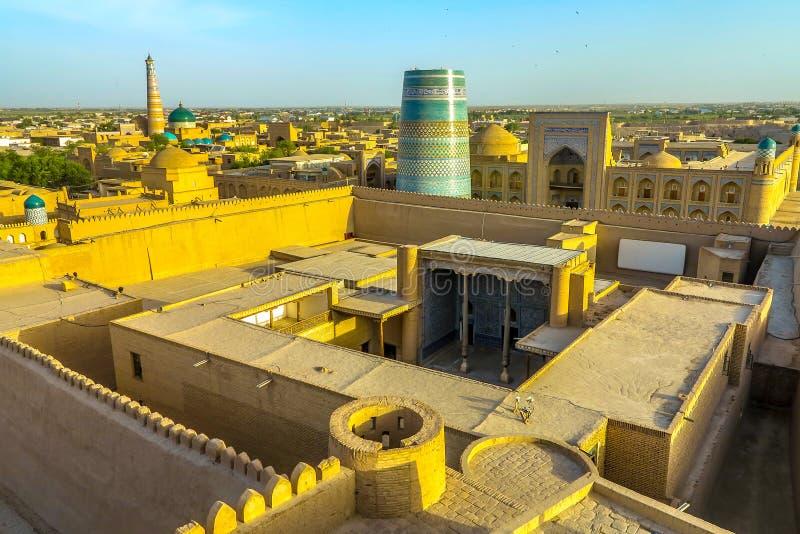 Город 98 Khiva старый стоковая фотография