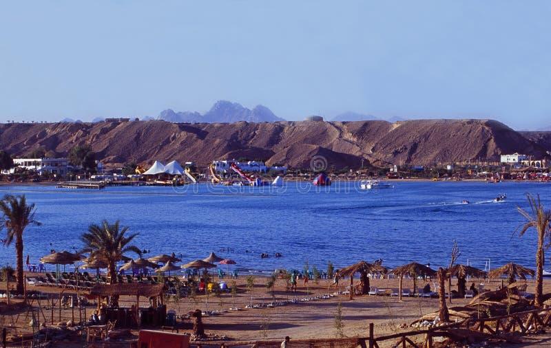 Египет: Залив Naama в Sharm El Sheikh на Синай стоковые изображения