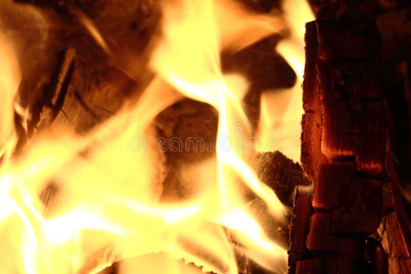Завораживающий огонь. Огонь в камине. No, not something more stock photo
