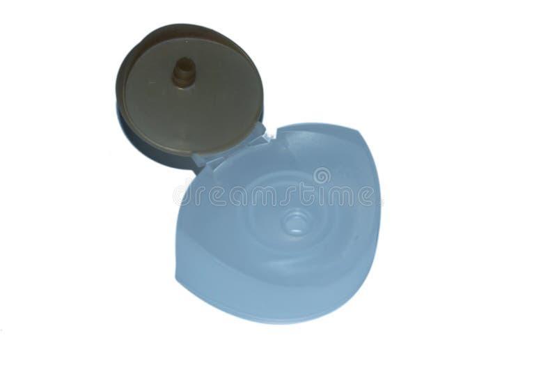 Закрытие крышки шампуня стоковое изображение rf