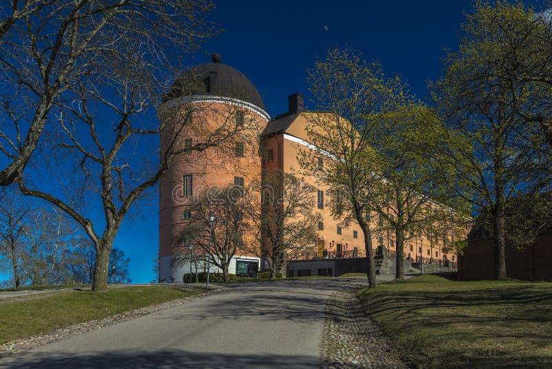 Замок Уппсалы - Уппсала Slott стоковые изображения rf