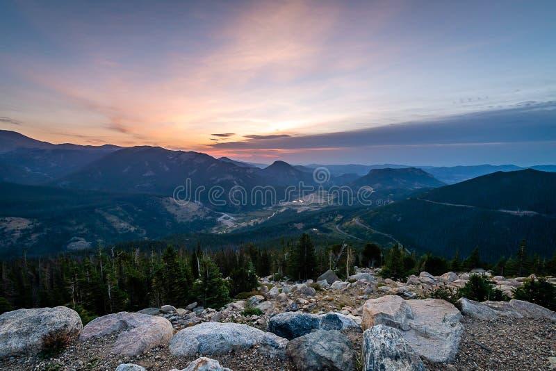 Звонок национального парка скалистой горы стоковые фото