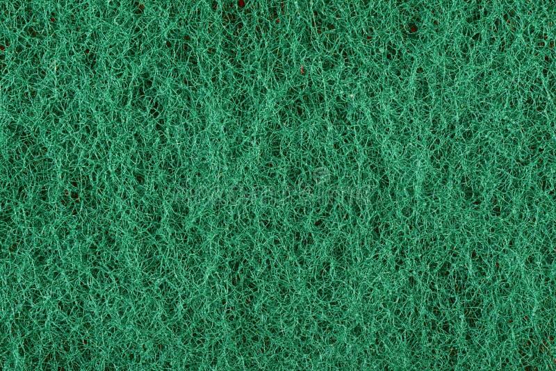 Зеленый цвет scrub текстура губки стоковые фотографии rf