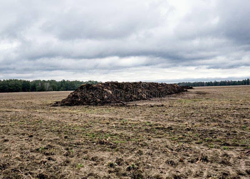 Землеудобрение естественного позема агро био стоковое изображение rf