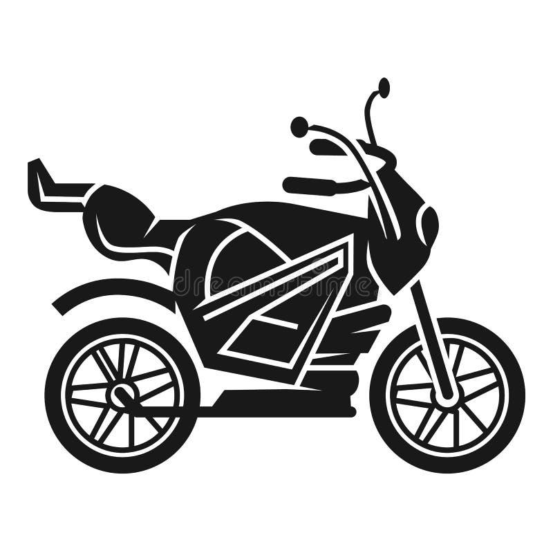 Значок велосипеда спорта, простой стиль бесплатная иллюстрация