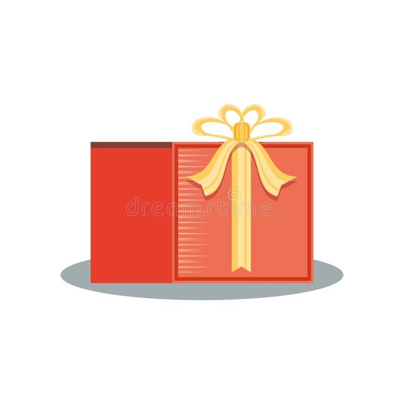 Значок стикера подарка коммерчески иллюстрация вектора