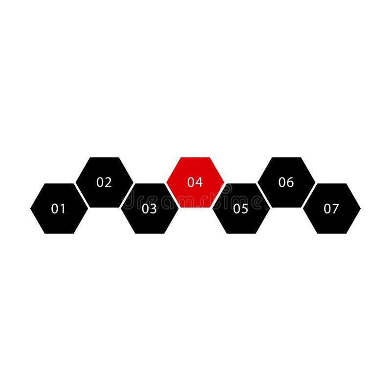 Значок формулы молекулы антибиотического лекарства Piperacillin скелетный иллюстрация штока