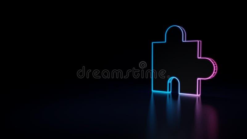 значок 3d головоломки бесплатная иллюстрация