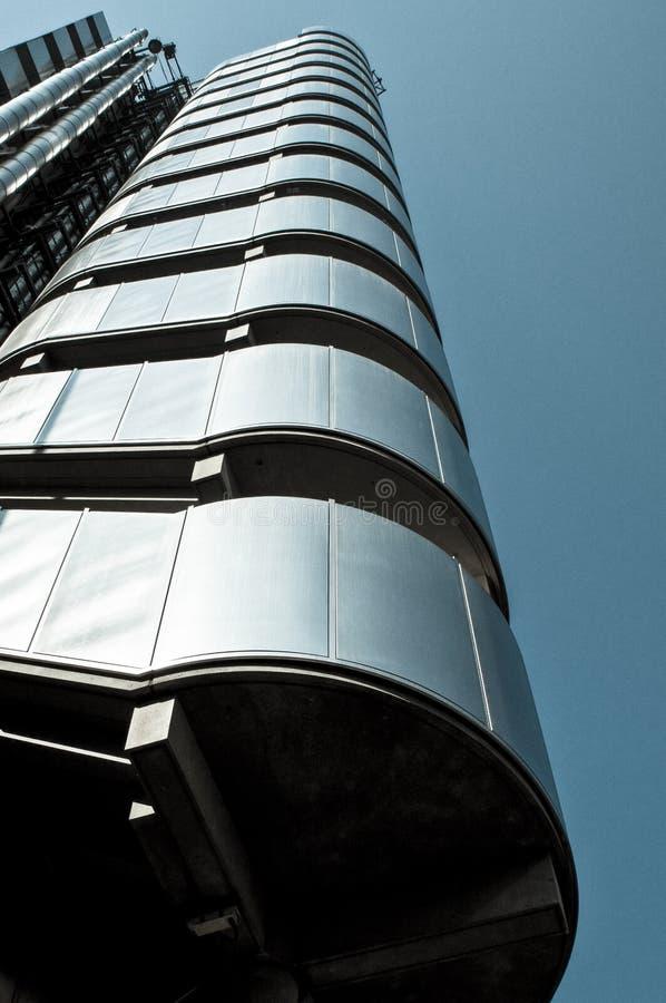 Здание Ллойд, город Лондона, Великобритании стоковая фотография rf