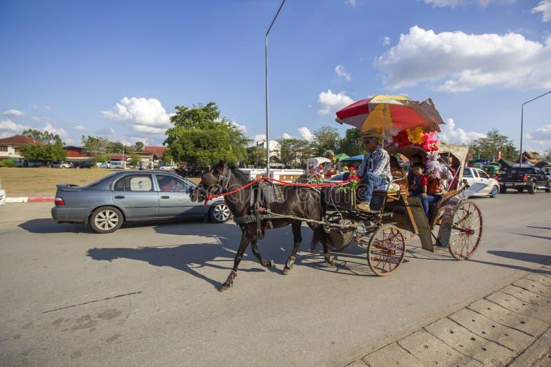 Изумляя провинция Lampang, Таиланд стоковая фотография