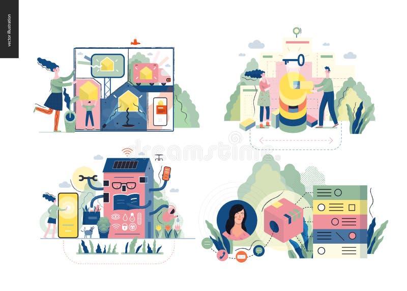 Иллюстрация темы технологии бесплатная иллюстрация