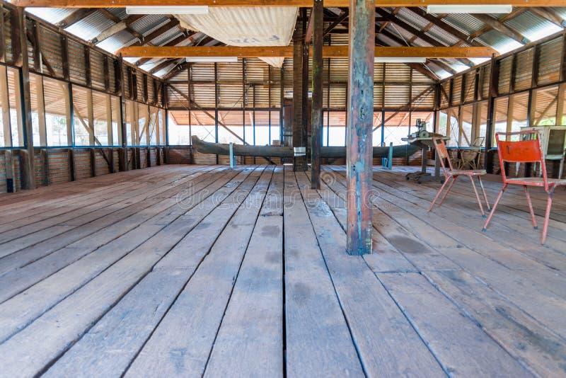 Исторический режа сарай от дней веденных мимо стоковое изображение rf