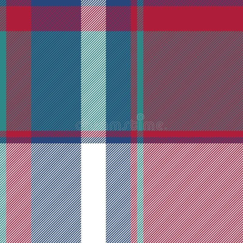Картина несимметричной абстрактной шотландки проверки безшовная иллюстрация вектора
