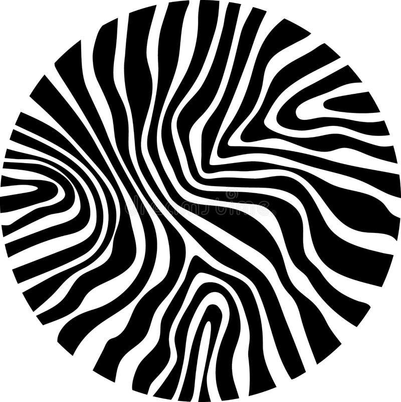 Картина Предпосылка текстуры меха зебры тигра абстрактная Животная кожа сафари белая чернит Джунгли Печать вектора животная Орнам иллюстрация вектора