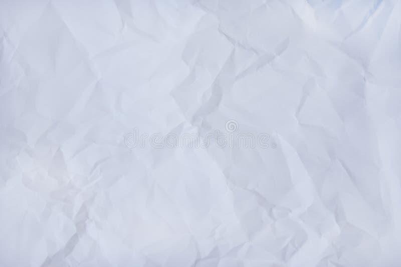 Картины белизны морщинки или серого бумажного конспекта текстуры для предпосылки стоковые изображения rf