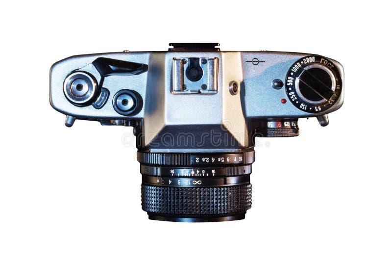 Классическая камера взгляда сверху стоковые фотографии rf