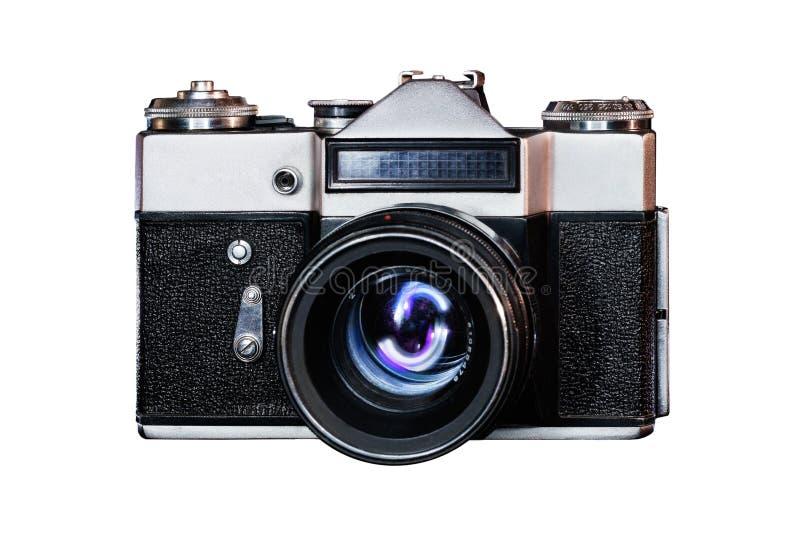Классическая камера вида спереди стоковое фото