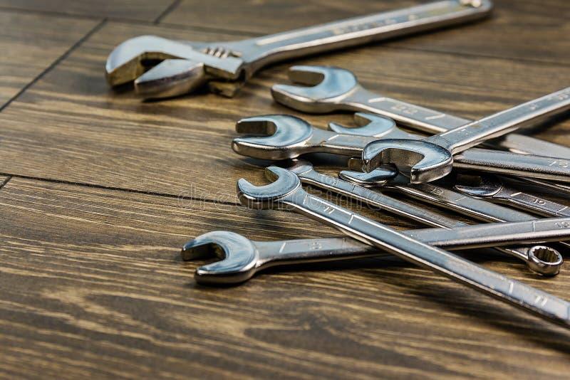 Ключи металла различных размеров стоковое фото rf
