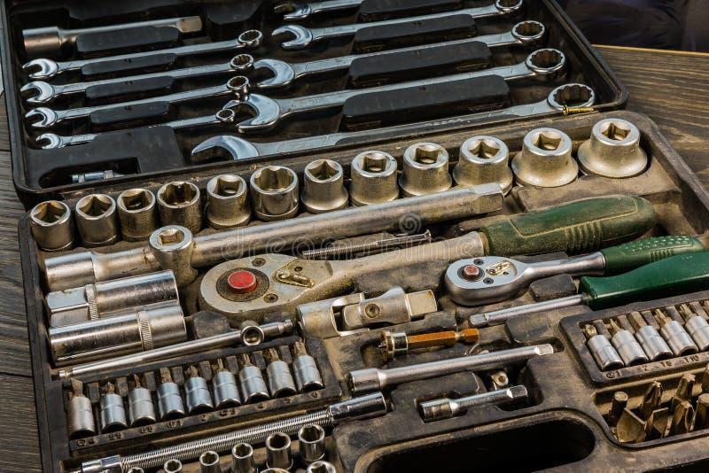 Ключи металла различных размеров стоковое изображение rf