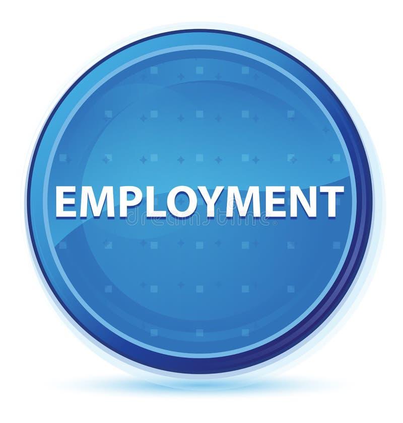Кнопка полночи занятости голубая основная круглая иллюстрация штока