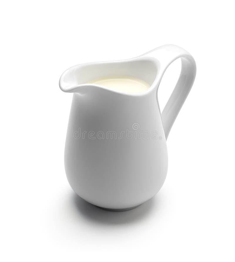 Кувшин молока или сливк стоковые фото
