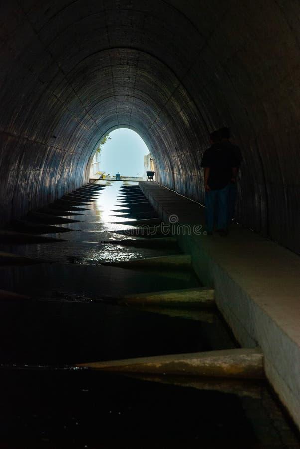 Кульверт лестницы рыб стоковые фото