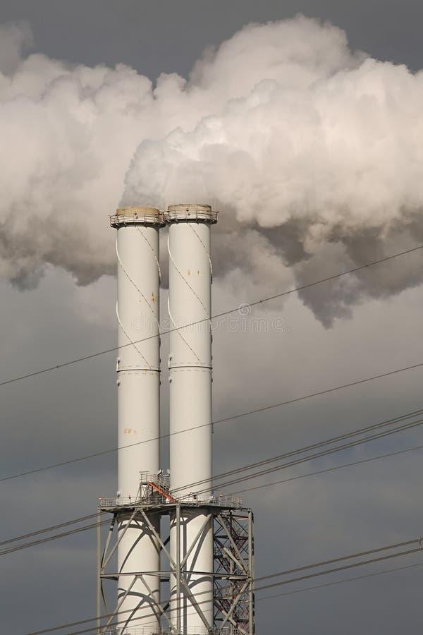 Куря электростанция стоковая фотография