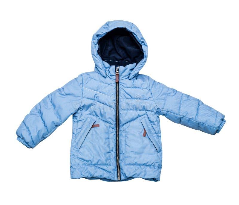 Куртка теплых детей зимы вниз стоковое фото