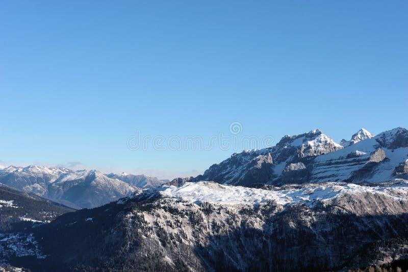 Красивый ландшафт горы - Trentino, доломиты, Италия, Европа стоковое фото
