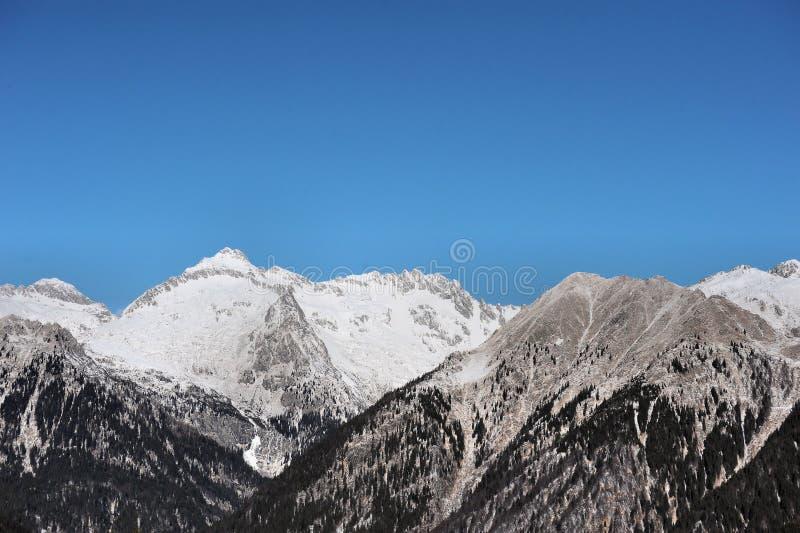 Красивый ландшафт горы - Trentino, доломиты, Италия, Европа стоковая фотография