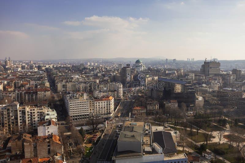 Красивый день в Белграде стоковые изображения