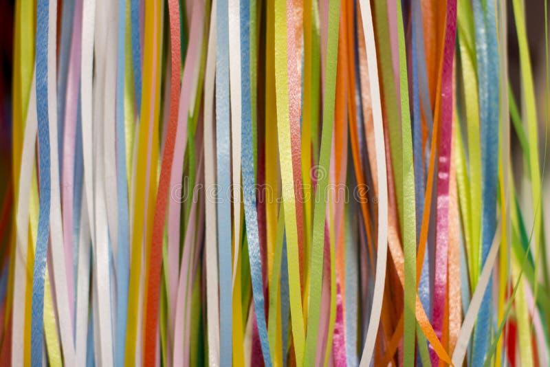 Красочные красочные ленты стоковая фотография rf
