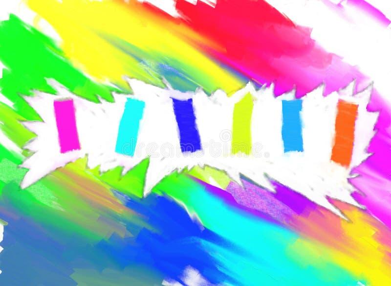 Красочные текстурированные предпосылка/конспект красочный/предпосылка & текстура стоковая фотография rf
