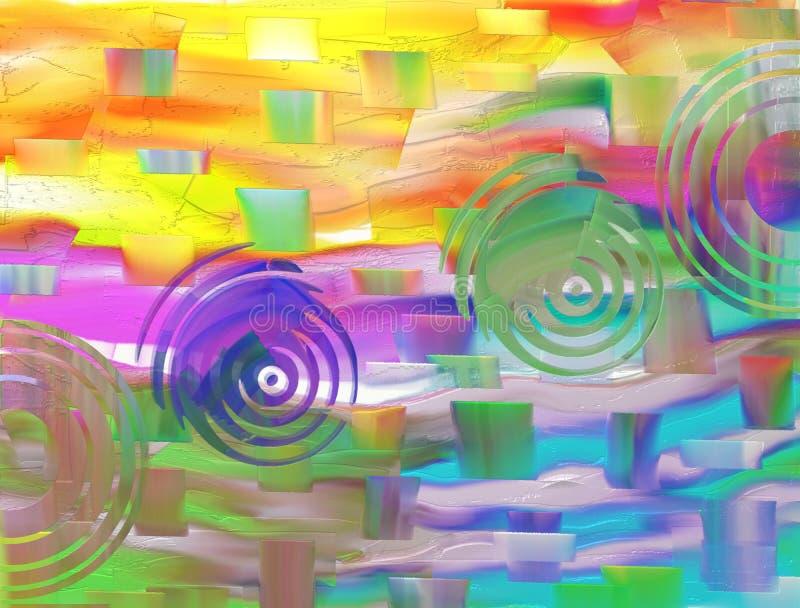 Красочные текстурированные предпосылка/конспект красочный/предпосылка & текстура стоковые фото