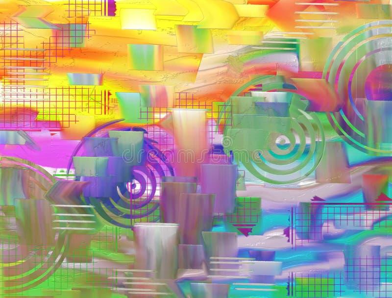 Красочные текстурированные предпосылка/конспект красочный/предпосылка & текстура стоковые фотографии rf