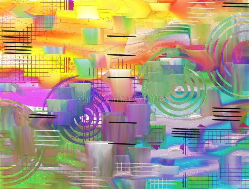 Красочные текстурированные предпосылка/конспект красочный/предпосылка & текстура стоковые изображения
