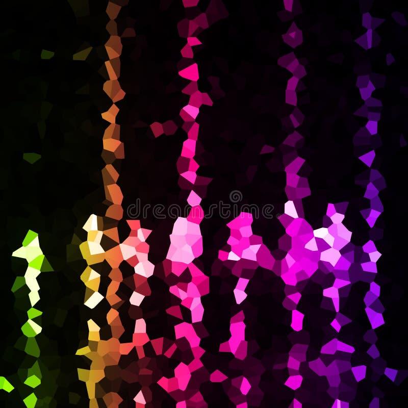 Красочный выкристаллизовывайте влияние стоковое изображение rf