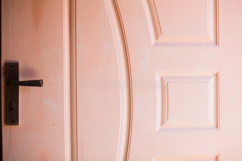 Крупный план двери стоковая фотография