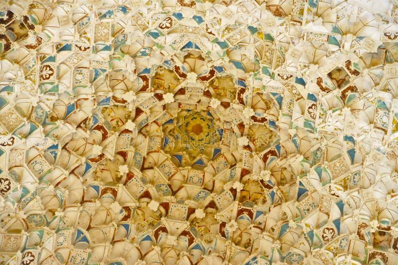 Комплекс дворца Nasrid, Альгамбра, Гранада, южная Испания стоковое изображение