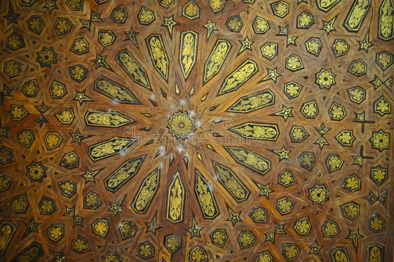 Комплекс дворца Nasrid, Альгамбра, Гранада, южная Испания стоковые изображения